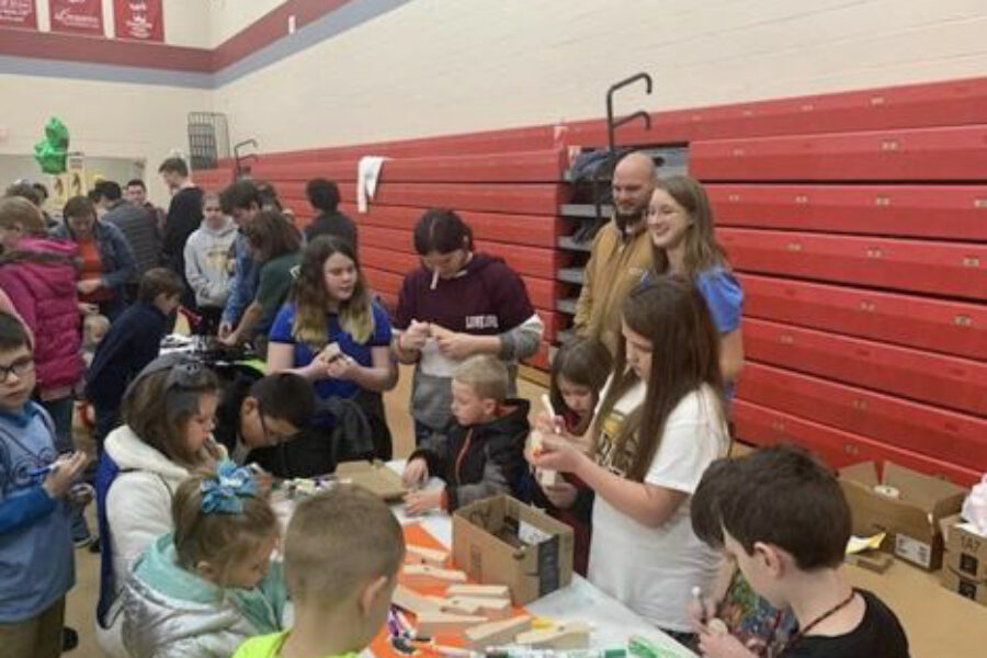 Park View Elementary School's STEM Olympics Night